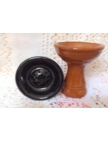 Tête poterie