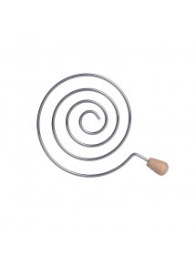 Grille séparatrice en spirale